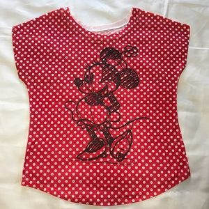 Disney Parks Minnie Mouse Top